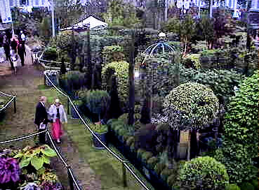 webcam 1 @ Chelsea Flower Show London UK