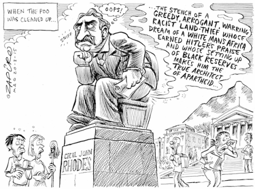 uct rhodes march2015 zapiro